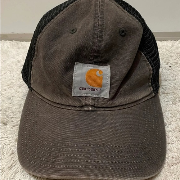 Carhartt Logo Mesh Trucker Snapback Adjustable Hat